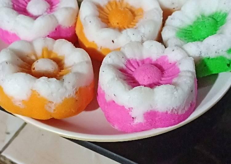 Resep Kue Putu Ayu Pelangi Praktis untuk Jualan