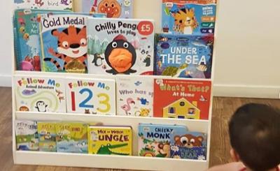 jual rak buku anak