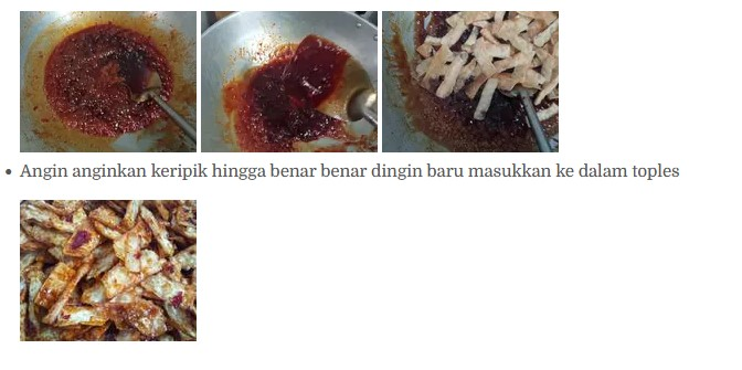 cara membuat manggleng pedas manis yang renyah